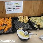 あぐれっしゅげんき村 - 2015年8月 天ぷら盛り放題