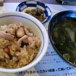 新島水産 - タコ飯~♪