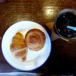 マクロビーナスとパン焼き人 - クロワッサンとシナモンロール