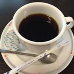 多喜亭 - 食後にコーヒーのサービスが
