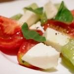40659877 - 佐々恵農園3種のトマトのカプレーゼ