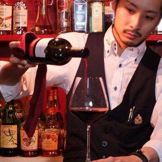 オーナー下自ら厳選したおすすめワイン