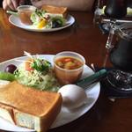 サンローゼ - 料理写真:モーニングは日替わりのようです。