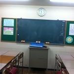 給食当番 - 教室風の2階席