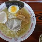 お食事の店敦子 - 料理写真:羅臼海洋深層水塩入 塩ラーメン