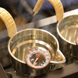 日本酒の温度にこだわる