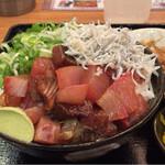 40662073 - 漬け海鮮シラス丼