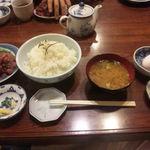 40662613 - ('15/08/07)アジのタタキ丼セット・大(1,000円)