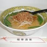 中華料理福華酒家 - 料理写真:台湾豚骨ラーメン 900円