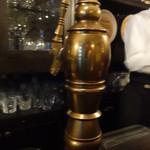 バー ジュラ - 真鍮製のごっついドラフトタワー