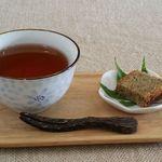 とちの実カフェ - お茶と菓子