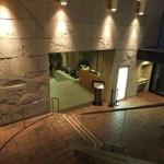 安芸グランドホテル - レストラン「厳島」入口