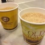 Old Town White Coffee KLIA - OLDTOWN White Coffee & OLDTOWN Teh Tarik