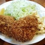 とん金 - ヒレカツ定食950円