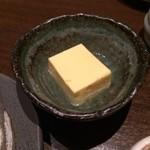 会津しこん - とうもろこし豆腐