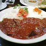 香辛飯屋 - 茄子とアスパラのキーマカレー