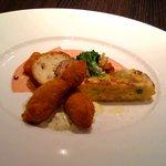 トラットリア・エンツォ - 地元食材が利用されている前菜