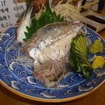 六五寿司 - 鯵の活造り 07 16