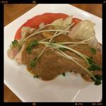 亀松 - 棒々鶏 580円