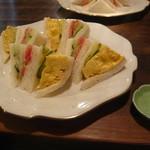 内田珈琲店 - 料理写真:オムレツ風たまごと野菜