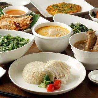 様々な国の食文化が融合したシンガポール料理をご堪能ください。