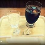 喫茶・レストランブルーポピー - アイスコーヒー220円
