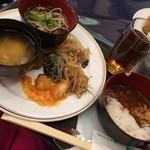 40687830 - 夕飯★                         仙台味噌汁、ハッシュドビーフなど★