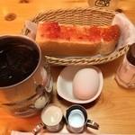 コメダ珈琲店 - たっぷりアイスコーヒー 520円