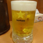 幸楽苑 - 生ビール:410円