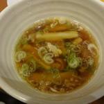 幸楽苑 - つけめんのスープ