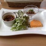 グリグリ - 料理写真:前菜