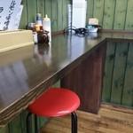 ホームラン食堂 - カウンター席