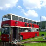 モンタギュー - 2階建てバスがお店