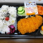 おべんと村 - 料理写真:カツ弁当 620円