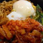 すき家 - 料理写真:牛ビビンバ丼
