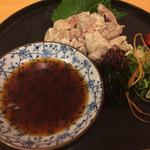寿司お造り 大漁 - ヒラメの肝ポン酢も500円ですが‥
