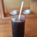 カフェ・ド・ドルチェ - アイスコーヒー(^^)