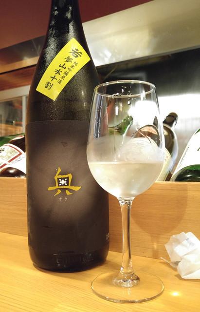 神田 日本酒バル 酒趣 - 奥(愛知)