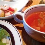 Green Cafe - 前菜とスープ