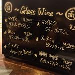40699523 - グラスワインが豊富なのは嬉しい
