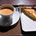 サンマルクカフェ - ブレンドコーヒー¥190