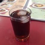 ヘラディワ - スぺシャルランチセットの紅茶(ストレートアイスティー)