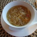 40703020 - 毛蟹肉入りふかひれスープ