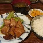 ichie - 料理写真:豚角煮set