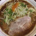 げんちゃんらーめん - 黒野菜味噌ラーメン