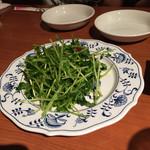 龍厨房 - 空芯菜の炒め物
