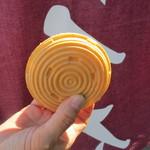 東屋菓子舗 - 料理写真:最中の生地は薄くてパリッパリ!