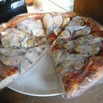 ブール - 野菜ピザ(¥200)