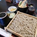 札幌蕎麦 き凛本店 - そばと天丼セット ¥1,000+税
