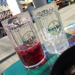 小樽ビール 夏のビアガーデン - 氷いれたれ